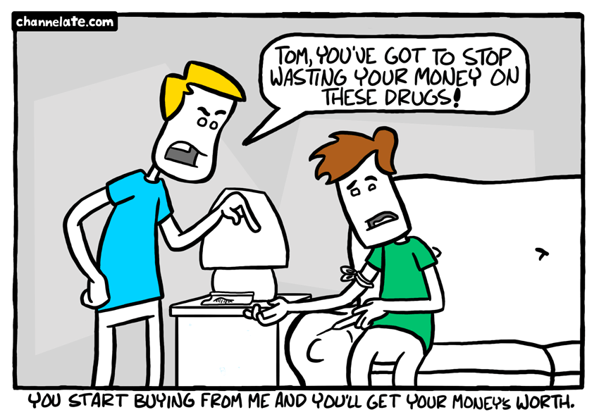 Stop wasting your money.