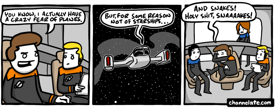 Planes and starships.