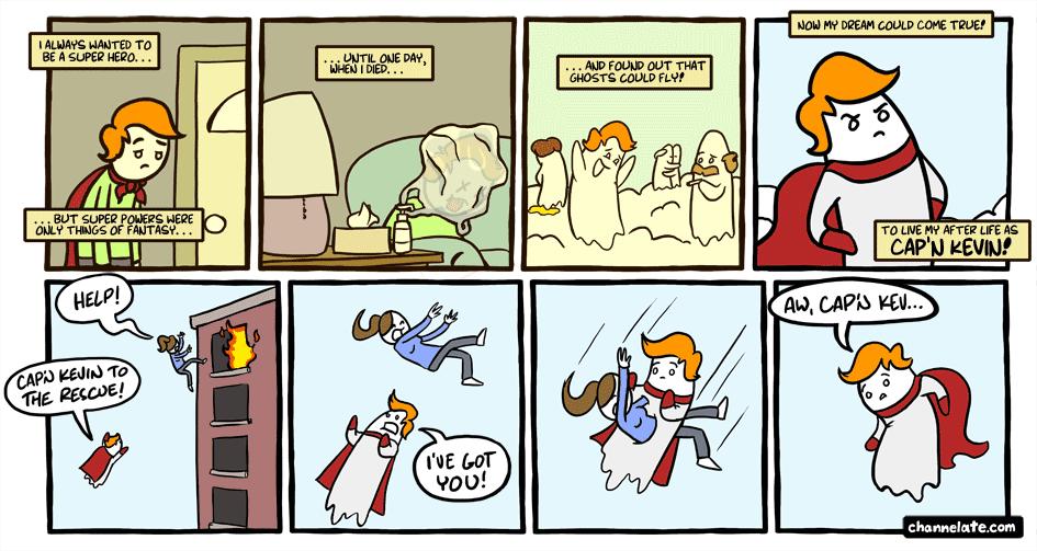 Cap'n Kevin.