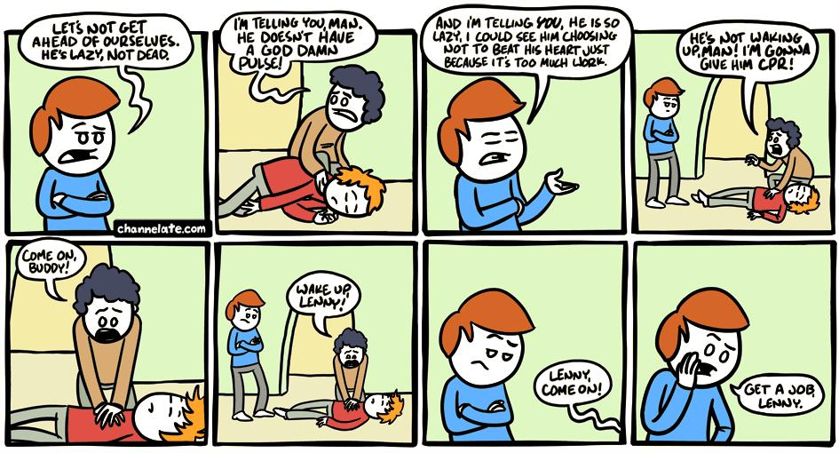 Lazy.