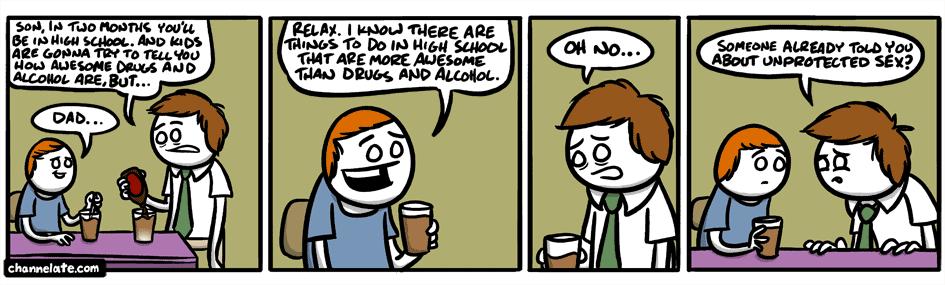 High School.