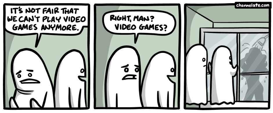 Can't play video games.