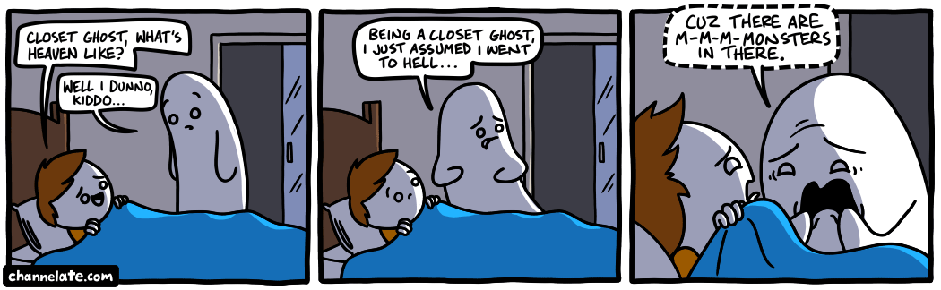 Channelate Closet Ghost