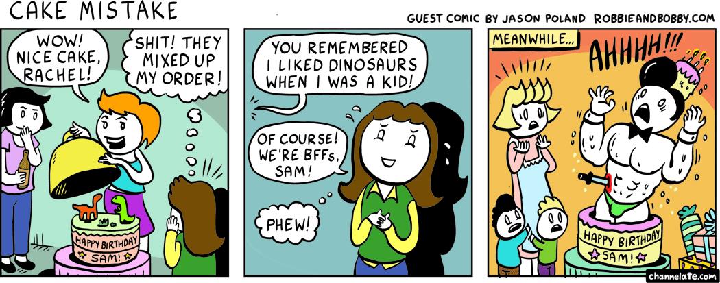 Guest Comic by Jason Poland!