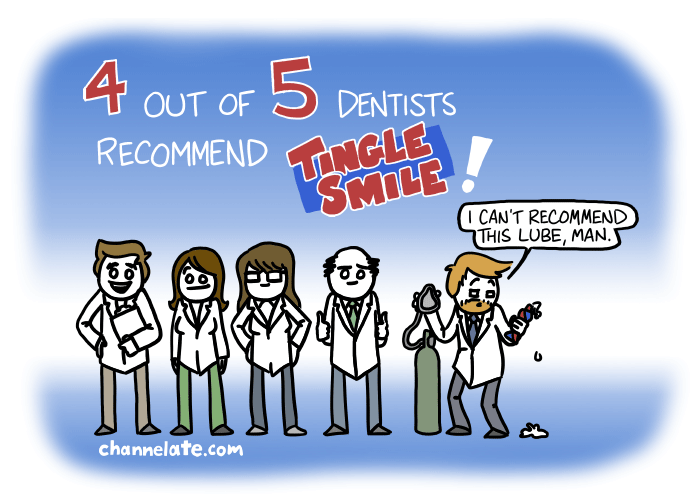 4 out of 5 dentists. . .