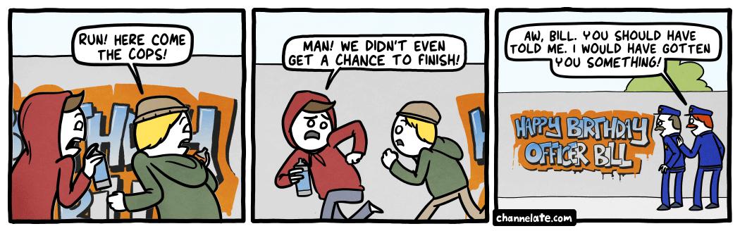 Tagging.