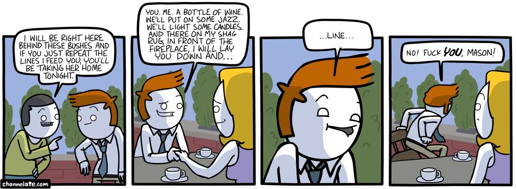 Bushes.
