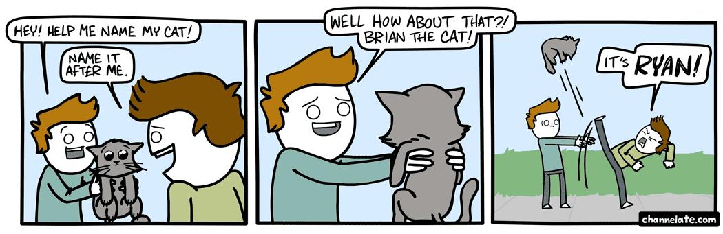 Cat names.