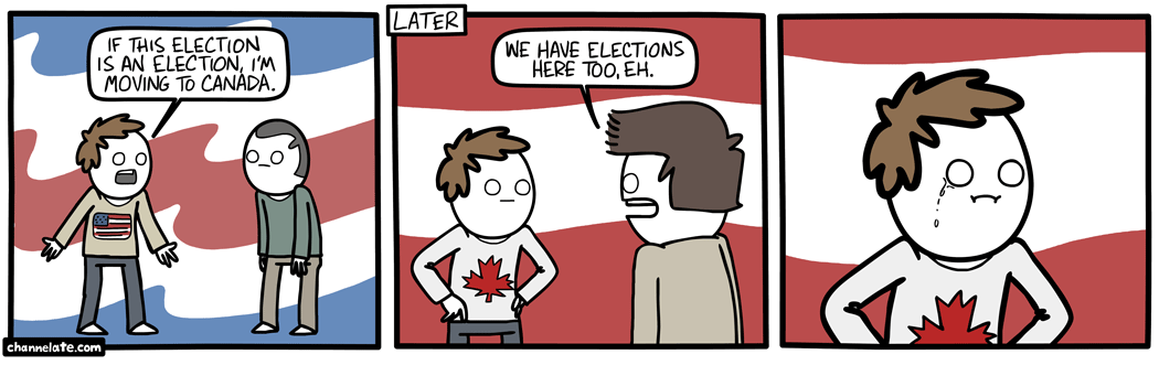channelate comic i m moving to canada the donald