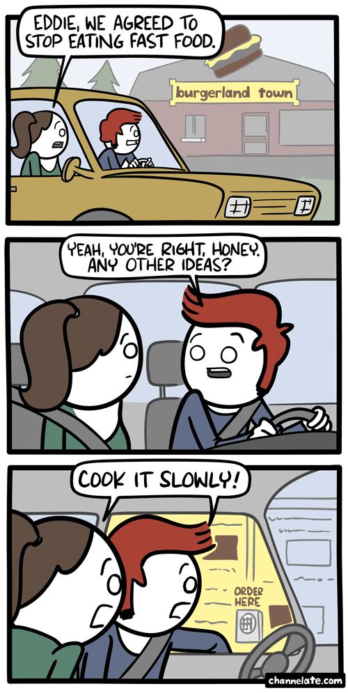 Funny Fast Food Comic