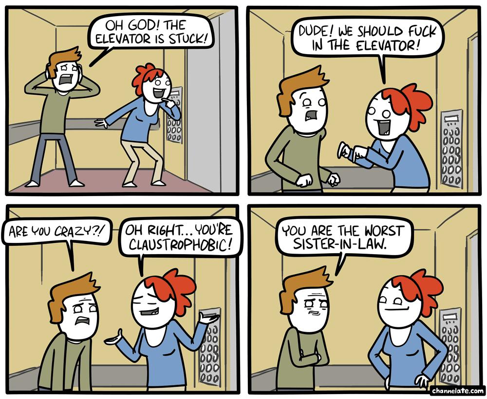 Stuck.