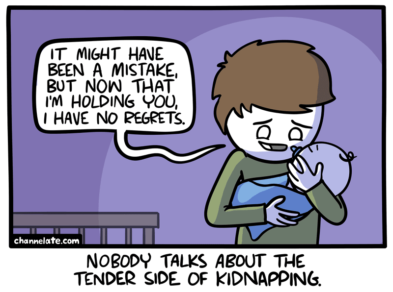 Holding you.