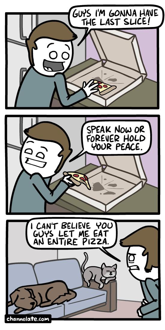 Last slice.