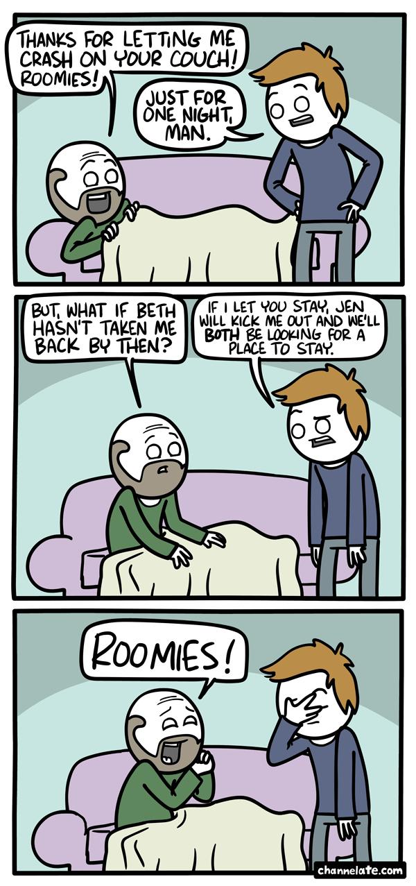Roomies!