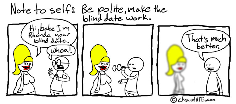 Funniest blind date jokes