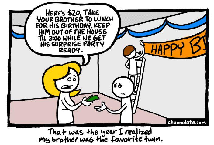 Surprise party.