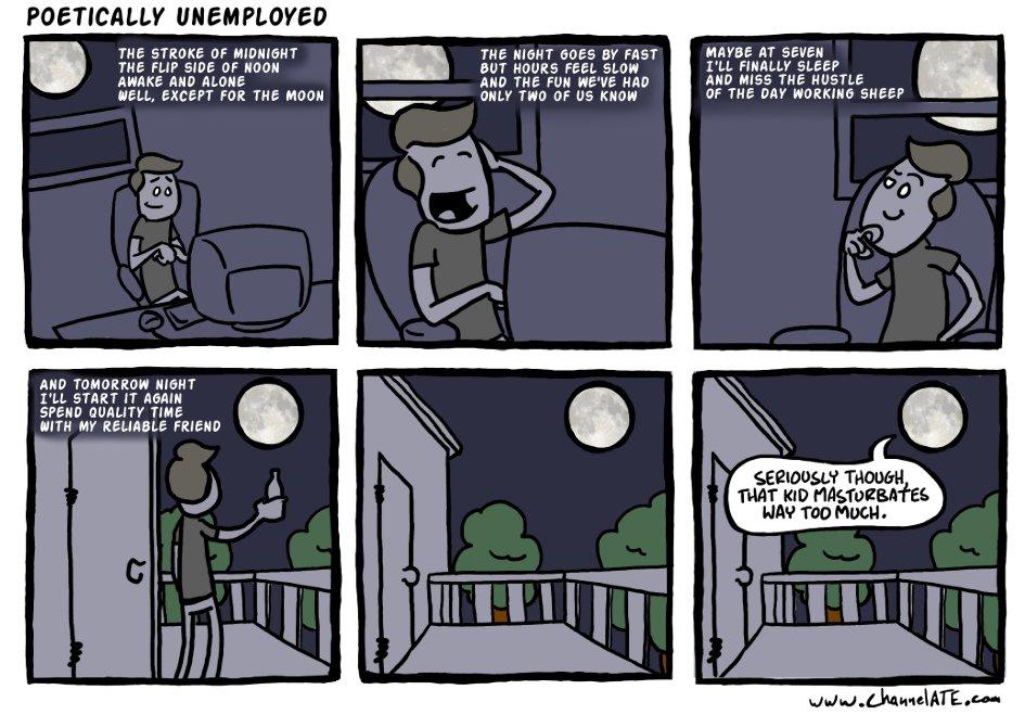 Poetically Unemployed.