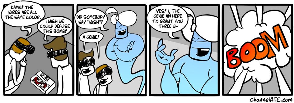 Genie chronicles. #1