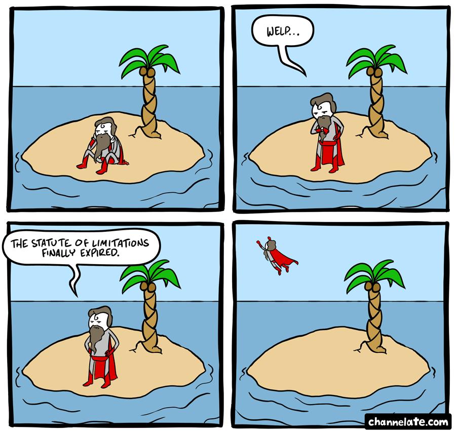 On an island.