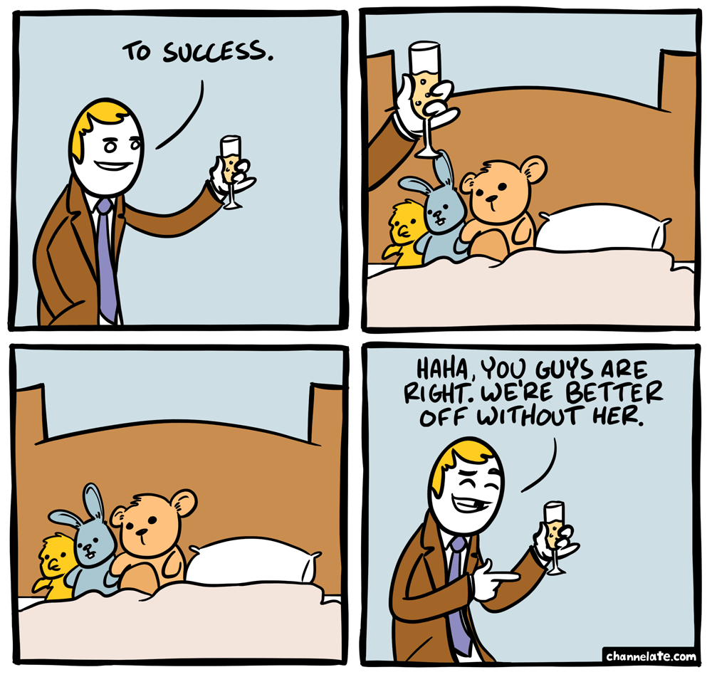 To success.
