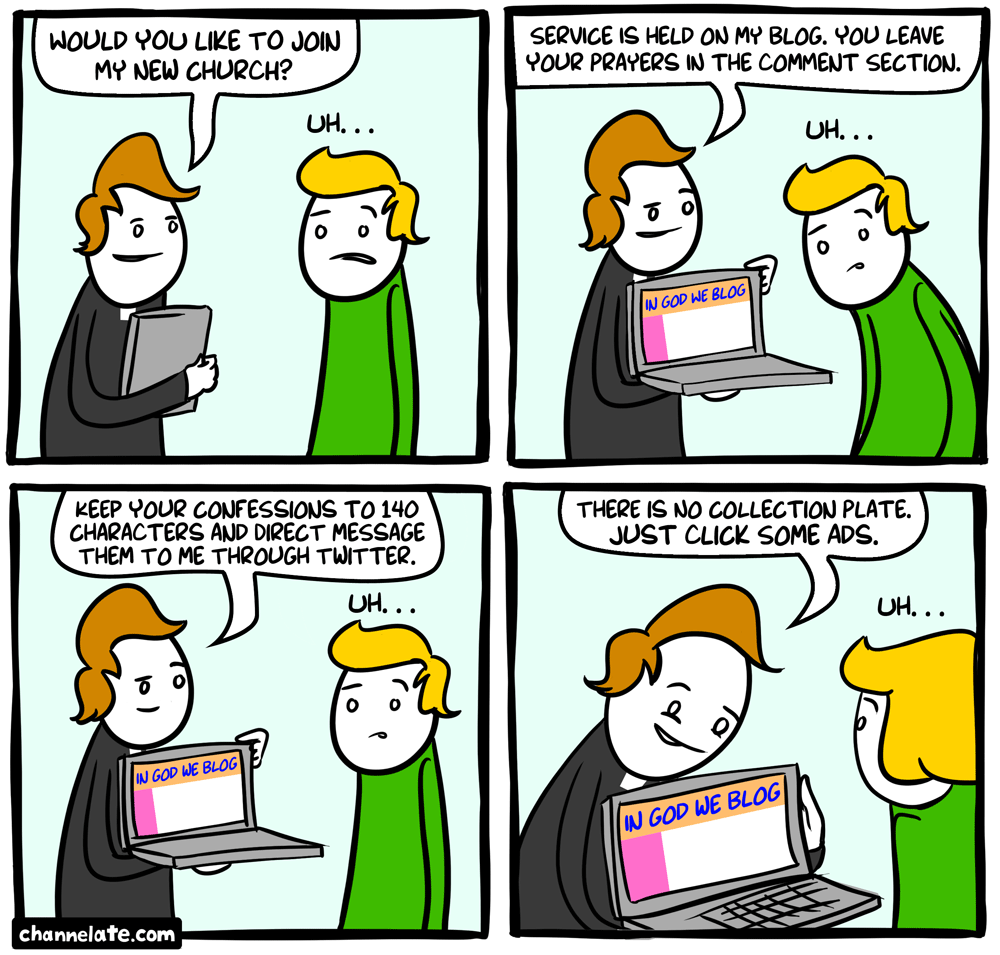 God bloggin'.
