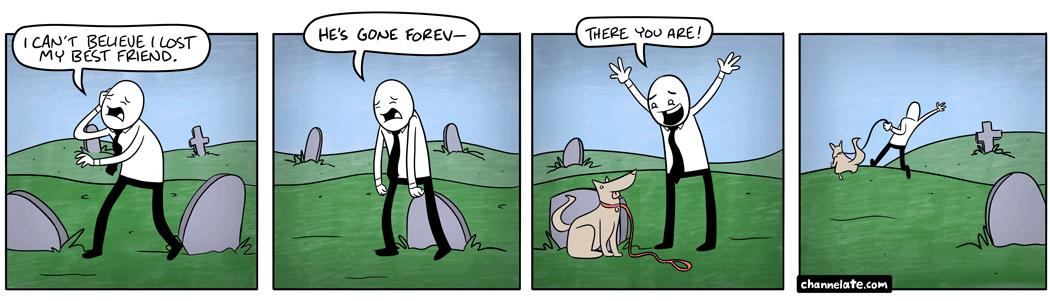 Losing a friend.