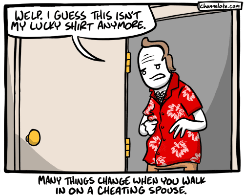 Lucky Shirt.