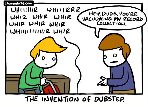 Vacuuming.