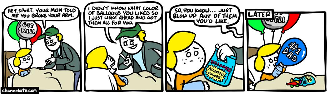 Get well.