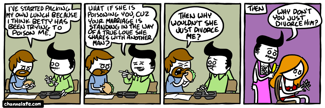 Poison pie.
