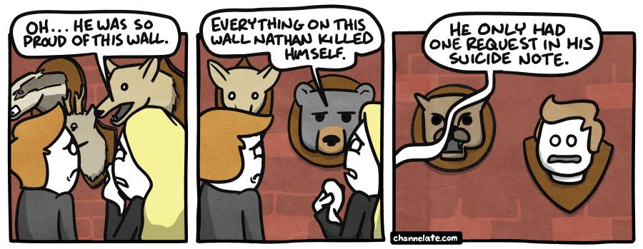 Trophies.