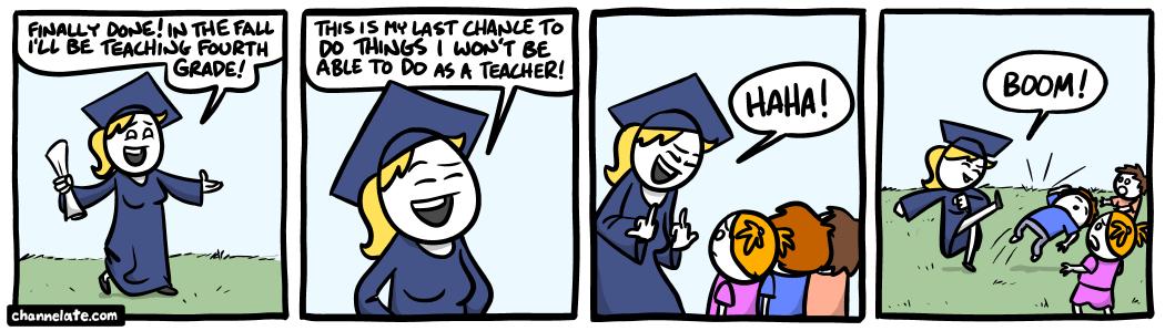 Last chance.
