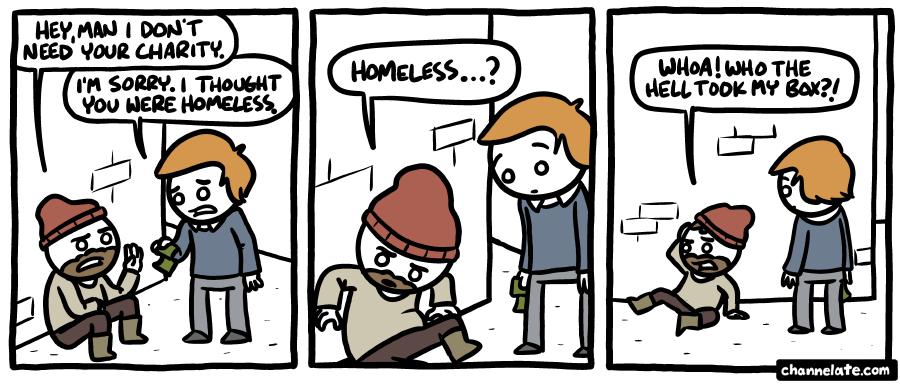 Charity.