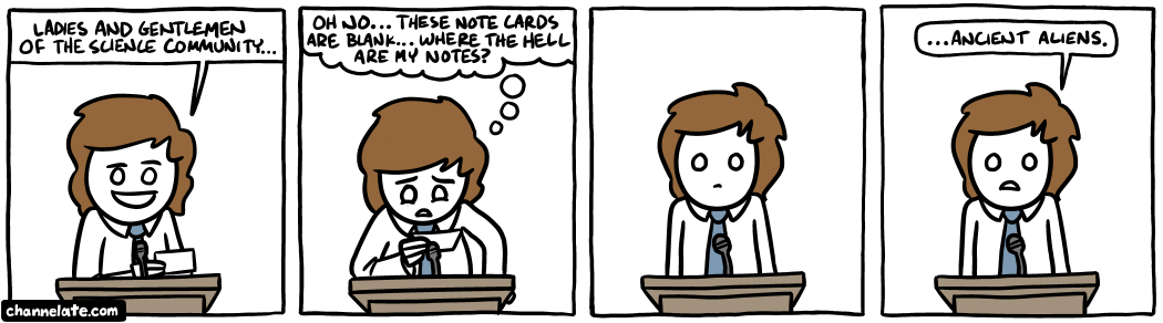 Note cards.