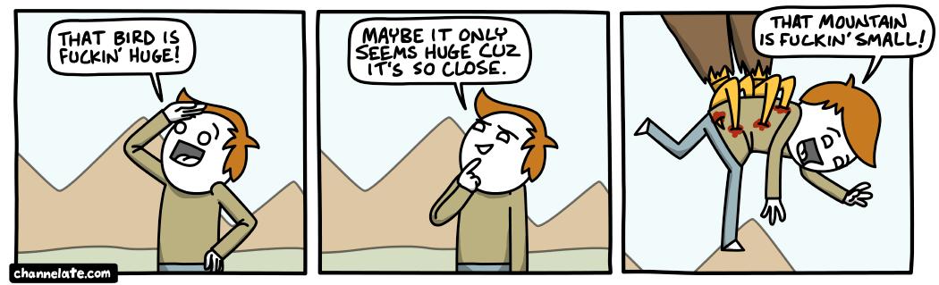 Huge.