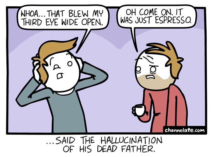 Third eye.