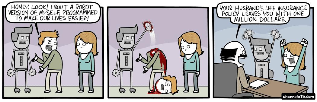 Robot Me.