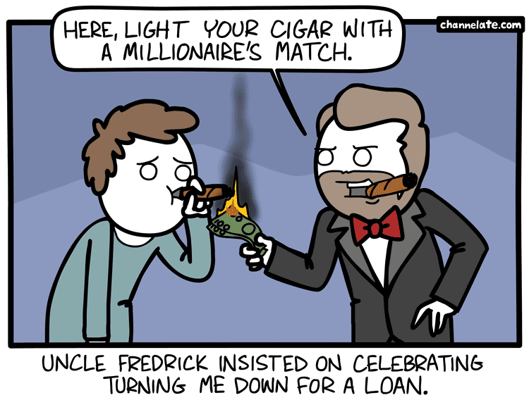 Have a cigar.