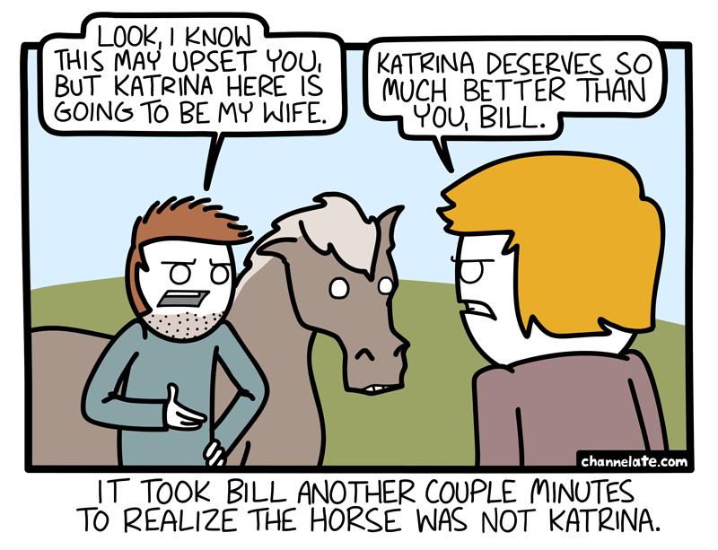 Katrina.