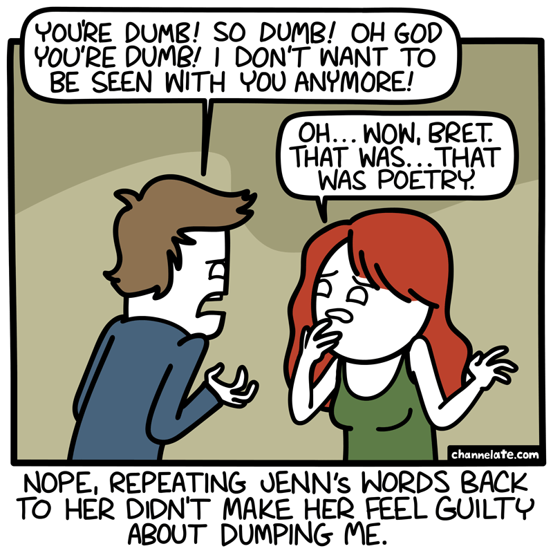 Dumb.