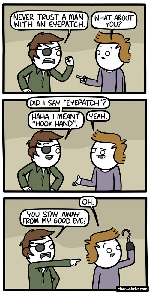 Eyepatch.