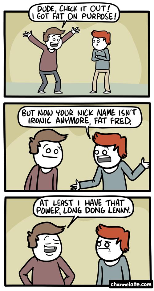Got fat.