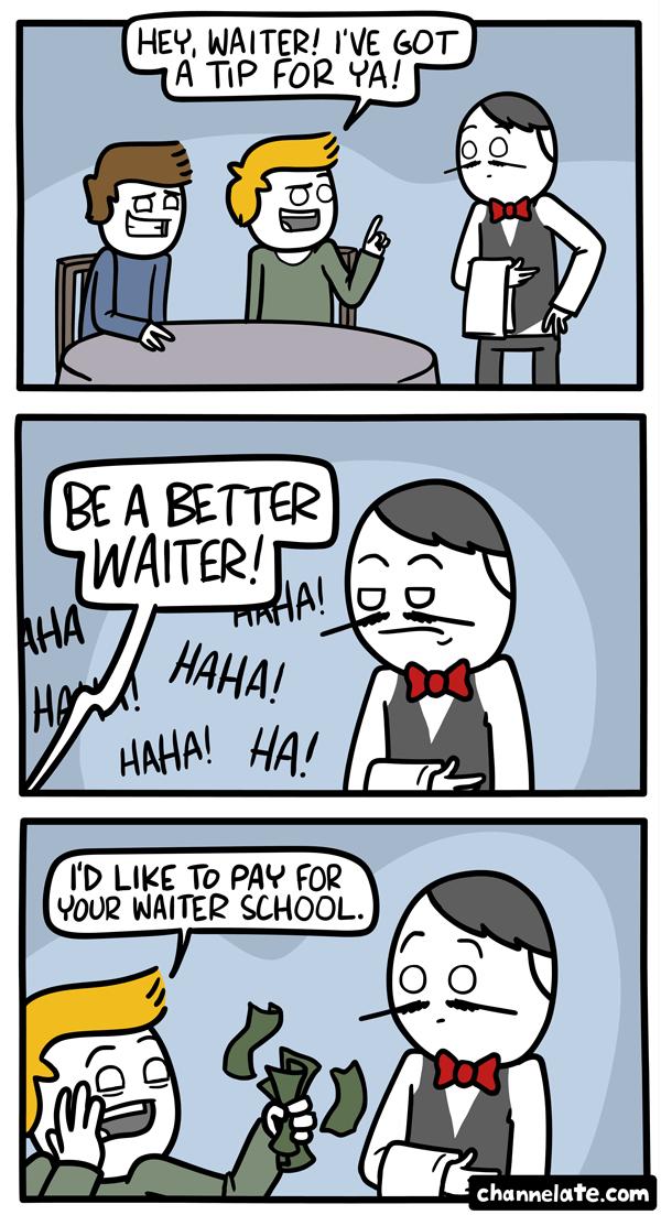 A tip.
