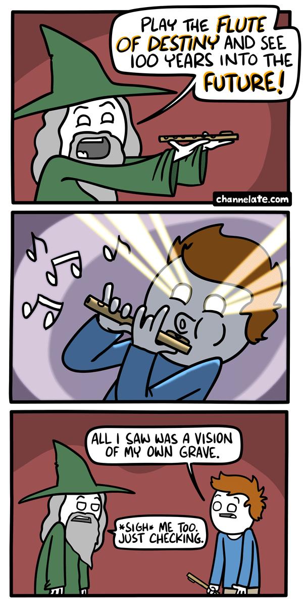 Flute of Destiny.