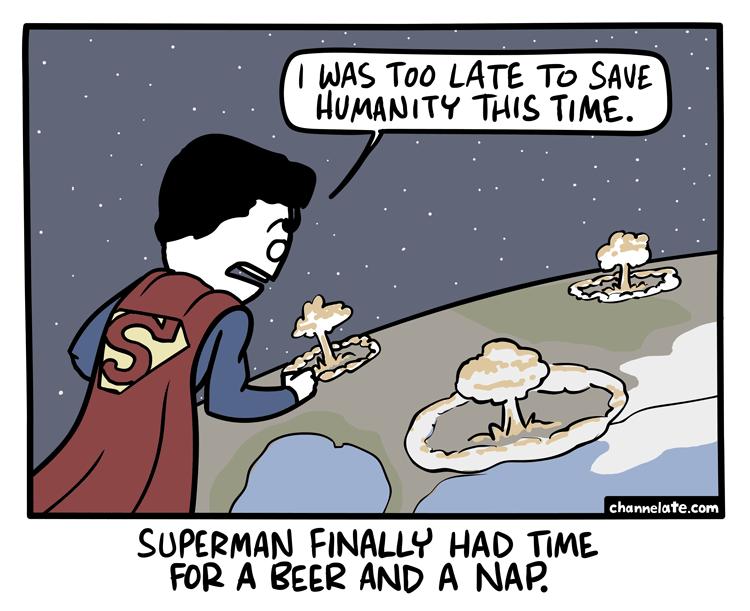 Too Late.