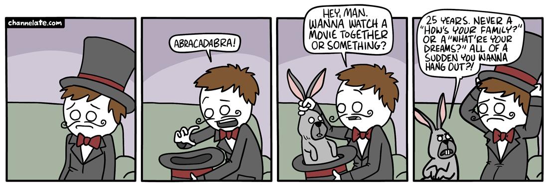 Abracadabra.