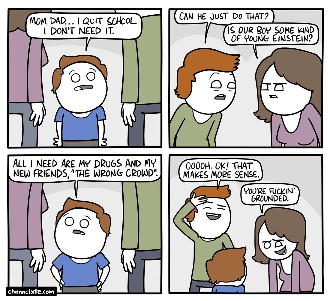Quit.