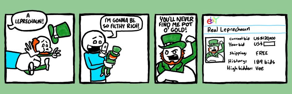 Pot o' gold.
