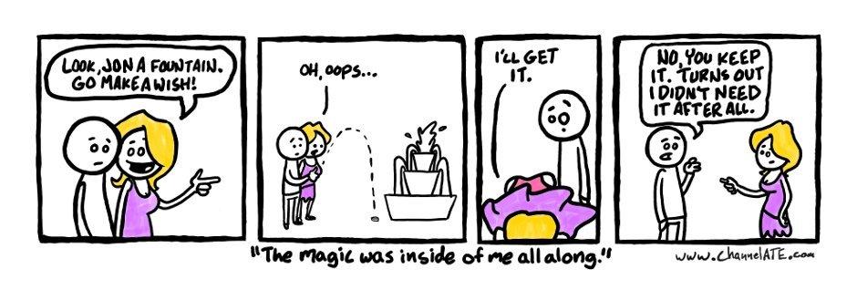 Make a wish.