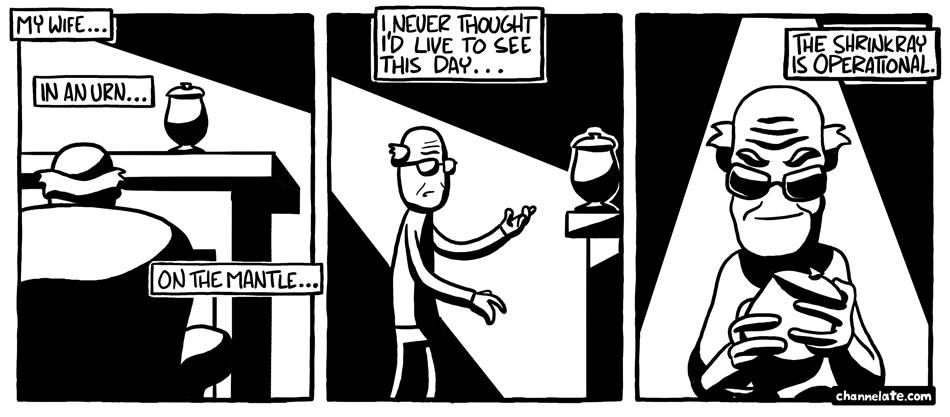 In an Urn. . .